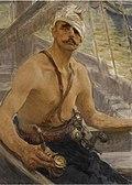 Repin-Study of Cossack (1908).jpg