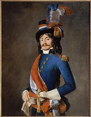 Représentant en mission - Représentant en mission, painting attributed to Jacques-Louis David