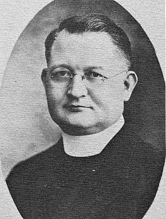 Our Lady of Mount Carmel High School (Wyandotte, Michigan) - Image: Reverend Father Peter S. Kruszka