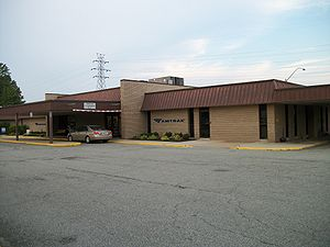Richmond Staples Mill Road Station Building.JPG