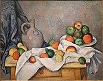 Rideau, cruchon et compotier, par Paul Cézanne.jpg