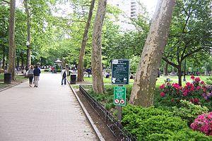 Rittenhouse Square - Image: Rittenhouse Square NE