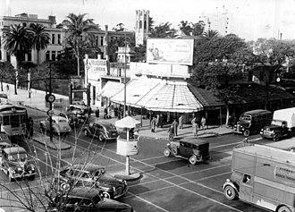 Caballito, Buenos Aires - Image: Rivadavia y Jose Maria Moreno (AGN, 1947)