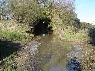 Furneux Pelham - Part of the 1km long ford