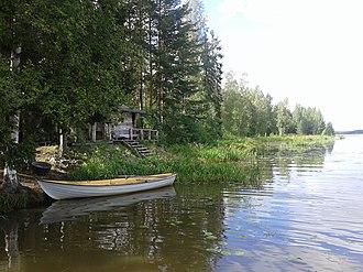 Kokemäki - Image: River Boat