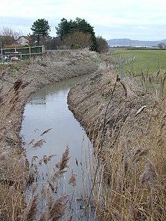 River Gele river in United Kingdom