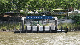 Transdev Brisbane Ferries - River Plaza ferry wharf, 2010