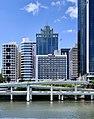 Riverside Expressway, Mercure Brisbane, buildings along North Quay, State Law Building at 50 Ann Street, Brisbane.jpg