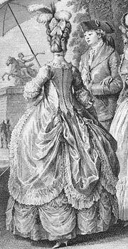 les robes à panier de Marie-Antoinette 180px-Robe_a_la_polonaise