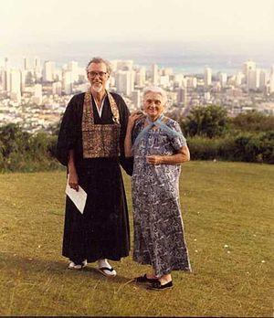 Robert Baker Aitken - Robert Baker Aitken and Anne Hopkins Aitken