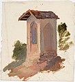 Robert Wilhelm Ekman - Italialainen kappeli, luonnos - A I 457-185 - Finnish National Gallery.jpg