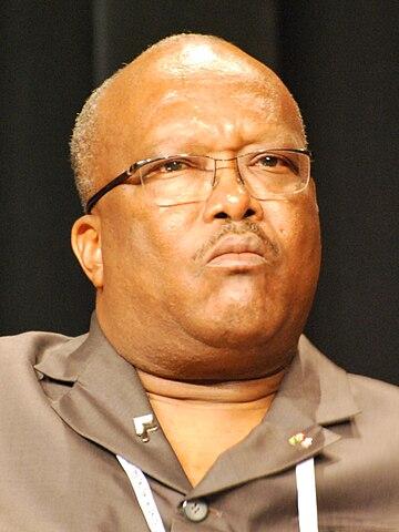 Roch Marc Christian Kaboré, Presidente del Burkina Faso Author: Letartean - CC BY 3.0