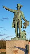 Rochambeau statue, Newport, Rhode Island, USA