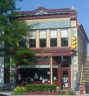 Rochester, Michigan - Rollin Sprague Building, built in 1849.