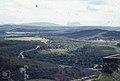 Rock of Gibraltar and Spanish smoky chimneys from Castellar de la Frontera (23903702538).jpg