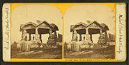 Rock temple, Maolis Garden, Nahant, Mass, from Robert N. Dennis collection of stereoscopic views