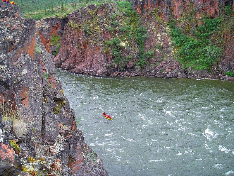 File:Rocky Defile, Coppermine River.jpg