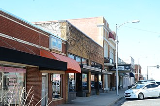 Rogers Commercial Historic District - Image: Rogers Commercial Historic District, 1 of 4