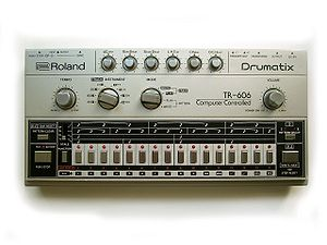 Big Black - A Roland TR-606 drum machine, the model Albini used to create Big Black's drum sound.