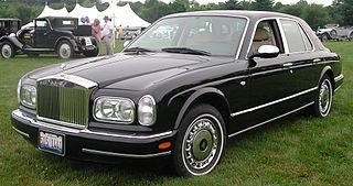 Rolls-Royce Silver Seraph car model