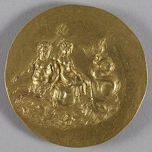 Neoptolemus I of Epirus - Image: Roman Medallion with Olympias Walters 592 Reverse