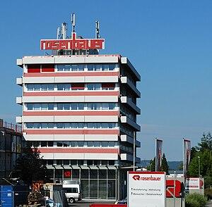 Rosenbauer - Headquarters in Leonding, Austria