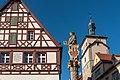 Rothenburg ob der Tauber, Kapellenplatz, Seelhausbrunnen 20161203-003.jpg