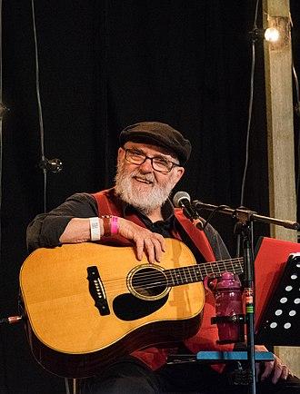Roy Bailey (folk singer) - Roy Bailey at Towersey Festival, 2018
