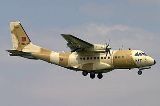 Royal Moroccan Air Force - A Moroccan CASA CN-235