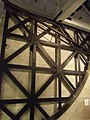 Royal Observatory Greenwich - Telescope Gallery - Halley's 8-foot iron mural quadrant (8130941456).jpg