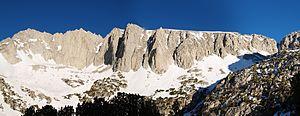 Ruby Peak (California) - Image: Ruby Wall