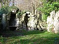 Ruined walls within grounds of Old Wardour Castle - geograph.org.uk - 288770.jpg