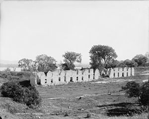 Fort Crown Point - Image: Ruins of Fort Frederick, Crown Point, N.Y. 1907