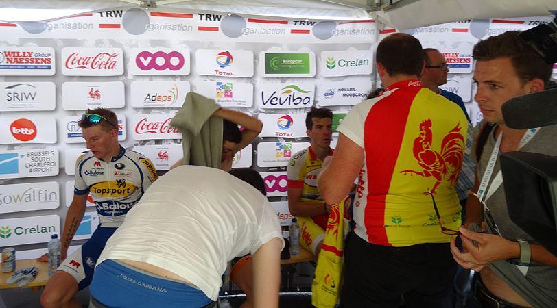 Rumillies (Tournai) - Tour de Wallonie, étape 1, 26 juillet 2014, arrivée (B31).JPG