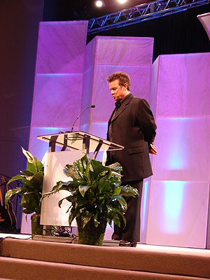 Russ Taff - Taff performing at the Christian Music Hall of Fame inductions, 2008