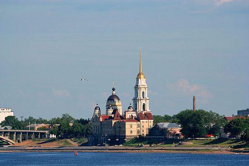 Rybinsk viewd from Volga