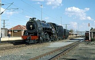1930 in South Africa - Wide-firebox Class 16DA