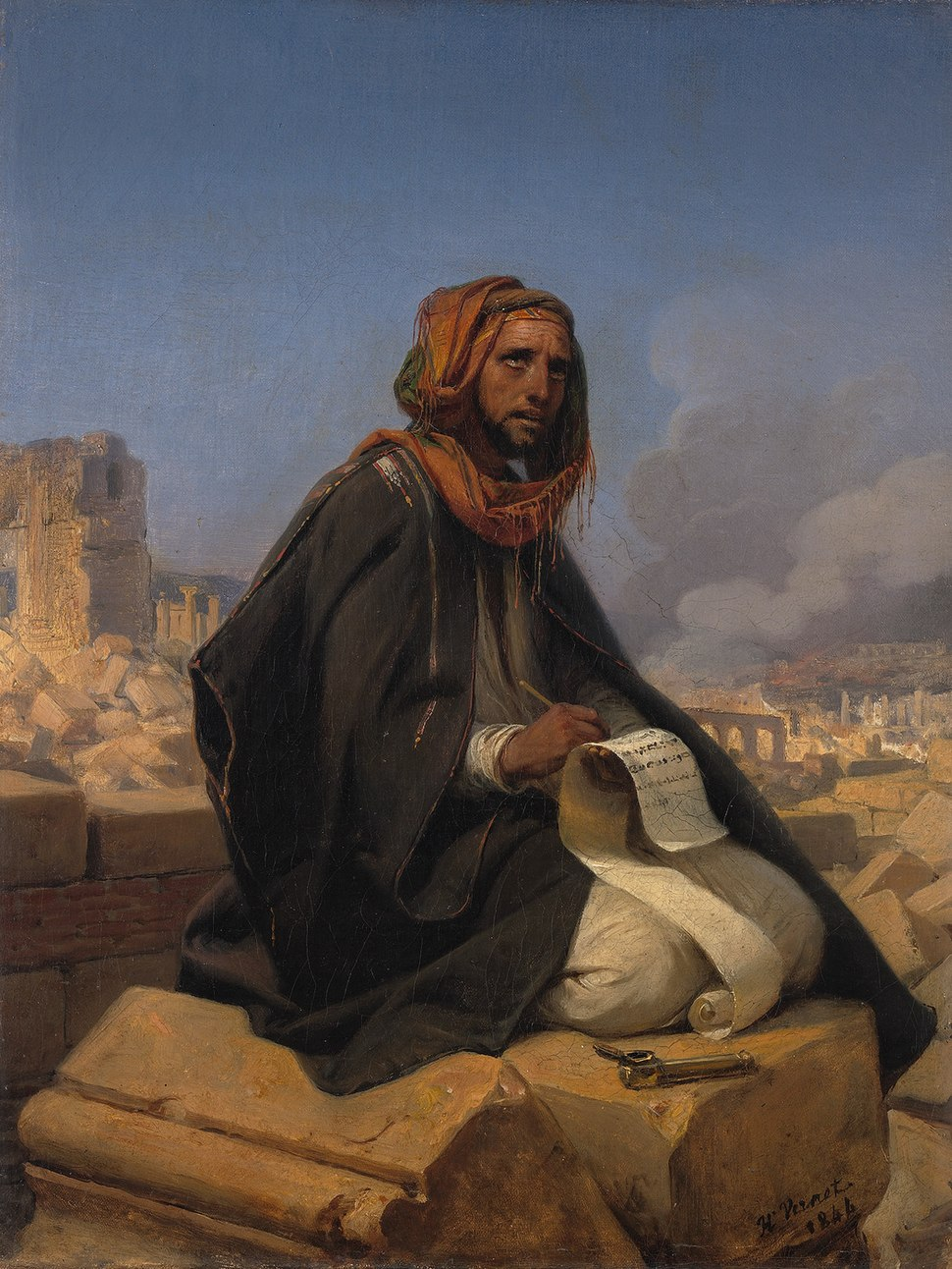 SA 160-Jeremia op de puinhopen van Jeruzalem