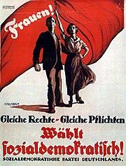 SPD-Plakat 1919