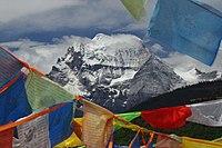 Sacred mountain Xiannairi Yading Biosphere Reserve.jpg