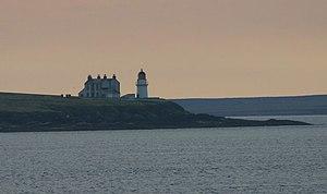 Helliar Holm - Image: Saeva Ness Lighthouse