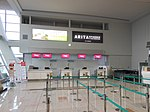 Saga Airport T'Way Airlines check-in counter.JPG