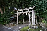 Saguriten-Shrine in Iwayama, Ujitawara, Kyoto July 6, 2018 03.jpg