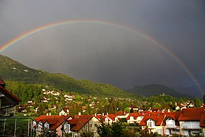 Saint-Légier-La Chiésaz - Saint-Légier-La Chiésaz after a storm