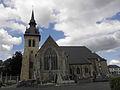 Saint-Méen-le-Grand (35) Abbatiale Façade sud 02.JPG