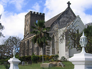 Parishes of Barbados - Lead church of the Parish.