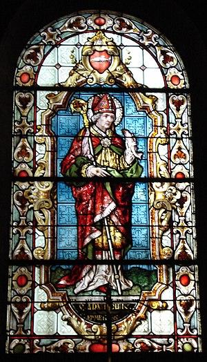 Arnulf of Metz - Image: Saint Arnould