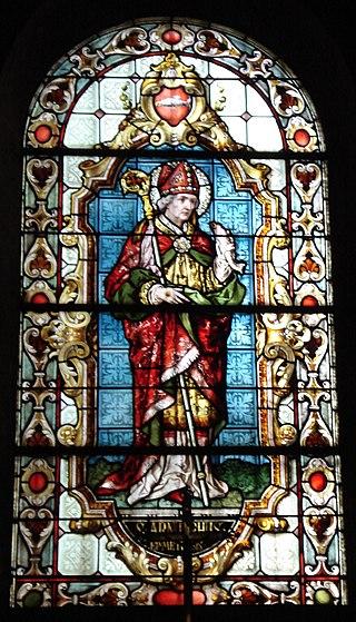 Saint-Arnoul, glassmaleri i chapelle Sainte-Glossinde i Metz