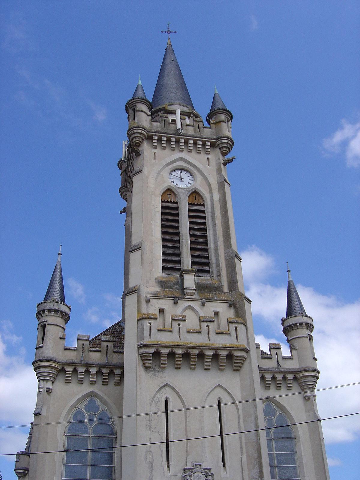 Glise sainte jeanne d 39 arc de lun ville wikip dia for Piscine de luneville