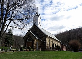 Saints Peter & Paul Catholic Church (Glenmont, Ohio) - exterior.JPG